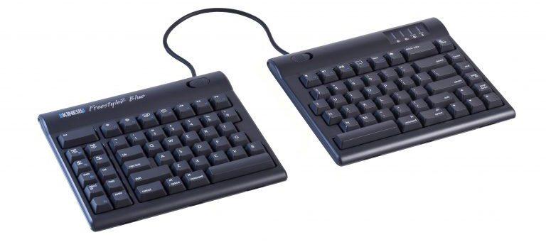 Best Wireless Ergonomic Keyboards - Kinesis Freestyle2 Blue