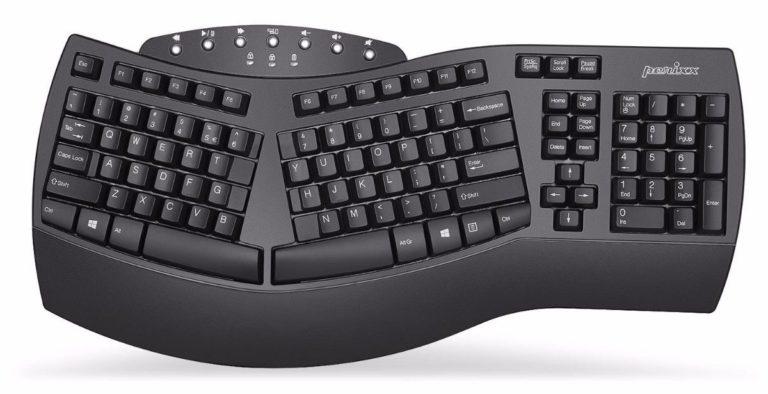 Best Wireless Ergonomic Keyboards - Perixx Periboard-612 Split Keyboard